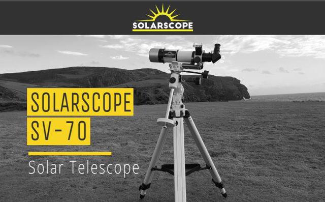 Picture of SolarScope SV-70 H-Alpha Telescope