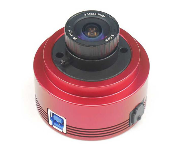 Picture of ZWO ASI385MC USB-3.0 Color Astro Camera with 2.15MP CMOS Sensor