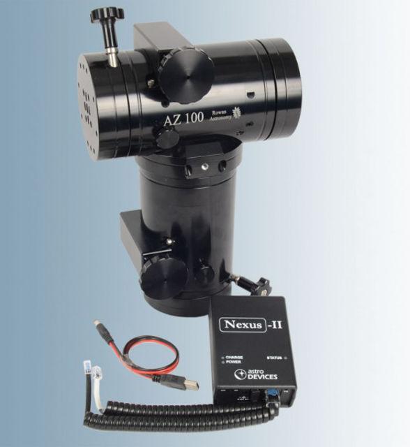 Bild von Rowan Montierung AZ 100 mit Encodern und Nexus II