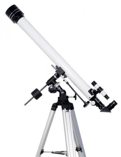 Bild von TS Optics Starscope 60/900mm Refraktor Teleskop auf EQ2-1 mit Stativ