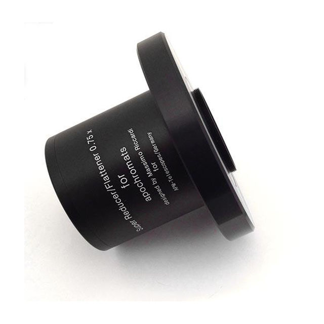 """Picture of TS Optics Adapter for Riccardi M63 Reducer to Starlight 3.5"""" Feather Touch focuser"""