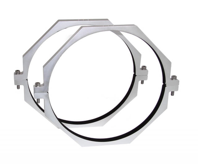 Bild von TS CNC Alu-Rohrschellen für Teleskope mit 240 mm Durchmesser