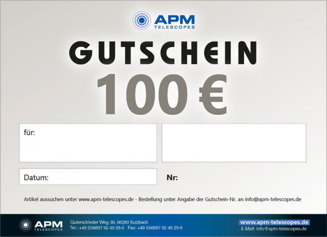 Picture of APM Gift Card 100 Euro