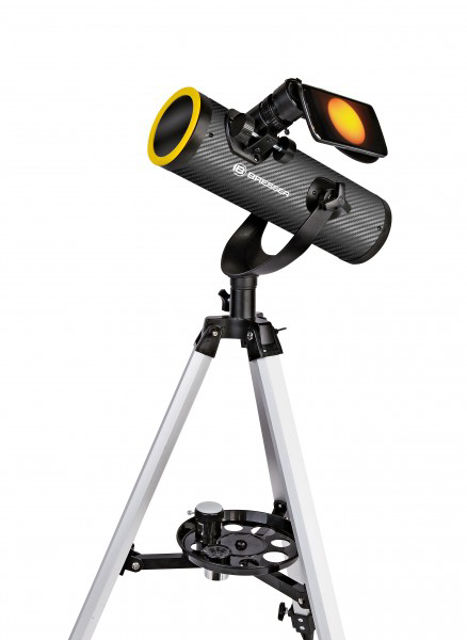 Picture of Solarix Telescope 76/350 with Solar Filter