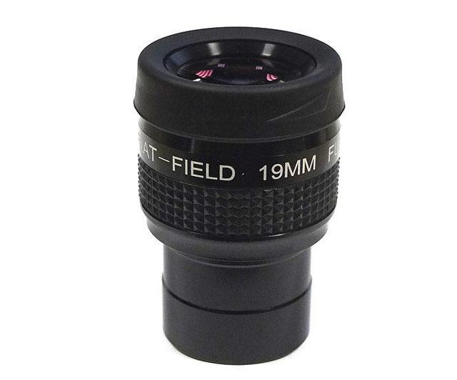 """Bild von TS-Optics 1,25"""" Flatfield-Okular FF 19 mm mit 60° Gesichtsfeld"""