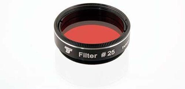"""Bild von TS 1,25"""" Farbfilter Rot #25 ab 80mm"""