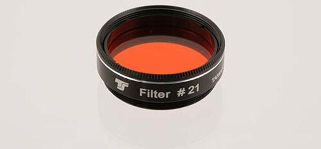 """Bild von TS 1,25""""-Farbfilter Orange #21 ab 80mm"""