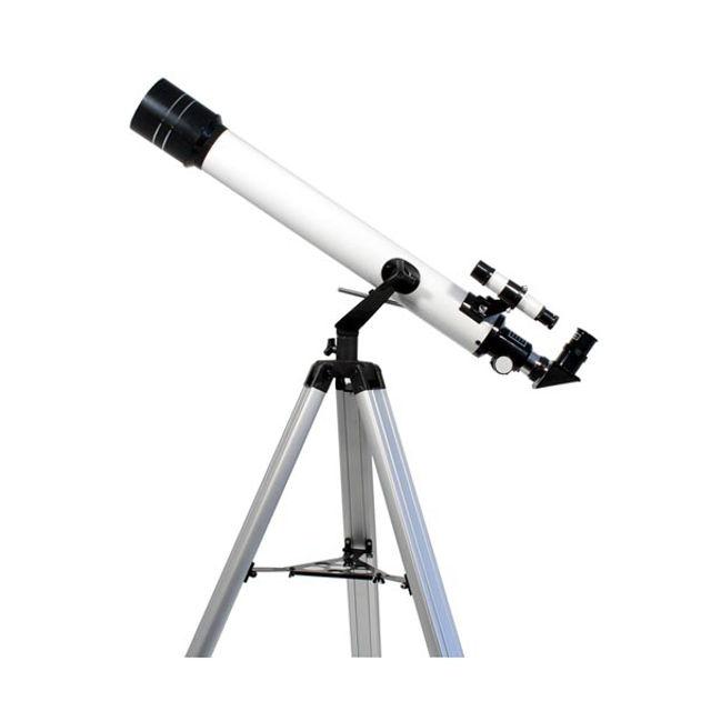 Bild von TS Starscope 70/700-mm-Refraktor Einsteigerteleskop mit Montierung und Stativ
