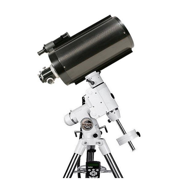 Picture of TS 8 inch f/8 Ritchey-Chretien Astrograph - Carbon on HEQ5 Goto Mount