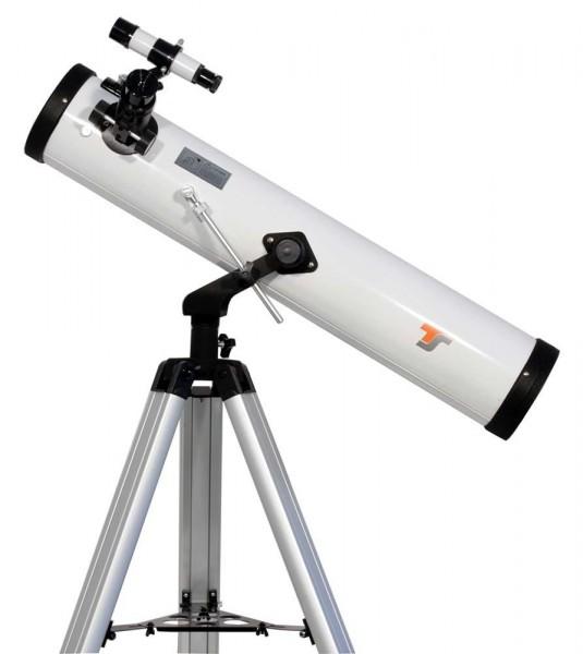 Bild von TS-Optics Starscope 76/700mm Newton-Teleskop mit Montierung und Stativ