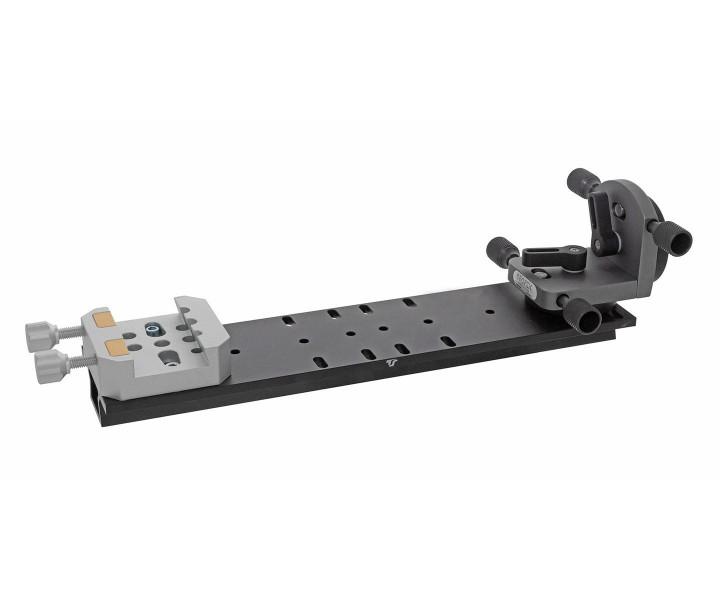 Bild von TS-Optics Doppelbefestigung für Vixen EQ5 Level Klemmungen und Montierungen mit Mikro-Feinverstellung