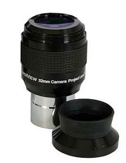 """Bild von TS-Optics SuperView 32mm-1,25""""-Okular mit integriertem T2 Gewinde"""