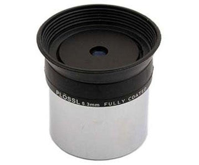 """Bild von TS Plössl 6,3mm mit 1,25""""-Einsteckdurchmesser,  50° Gesichtsfeld und vergüteter Optik"""