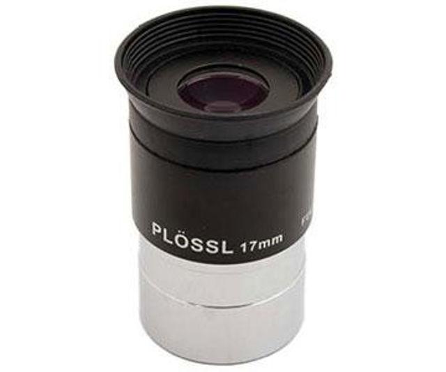 """Bild von TS Plössl 17mm mit 1,25""""-Einsteckdurchmesser,  50° Gesichtsfeld und vergüteter Optik"""