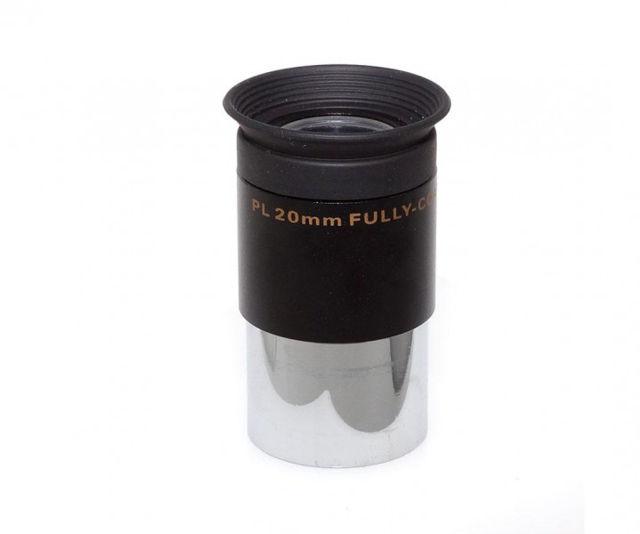 """Bild von TS Plössl 20mm mit 1,25""""-Einsteckdurchmesser,  50° Gesichtsfeld und vergüteter Optik"""