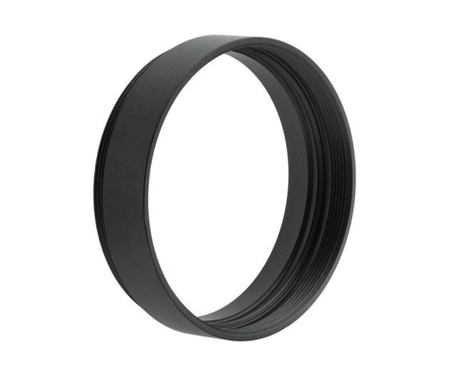 """Picture of TS Optics 8mm extension with M48 - 2"""" filter thread and 2"""" diameter"""