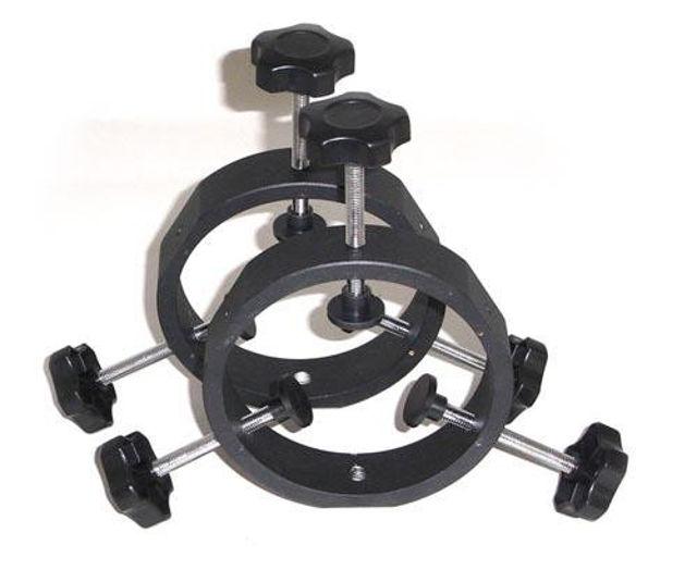 Bild von TS Optics justierbare Leitrohrschellen für Tuben von 40mm bis 90mm Durchmesser