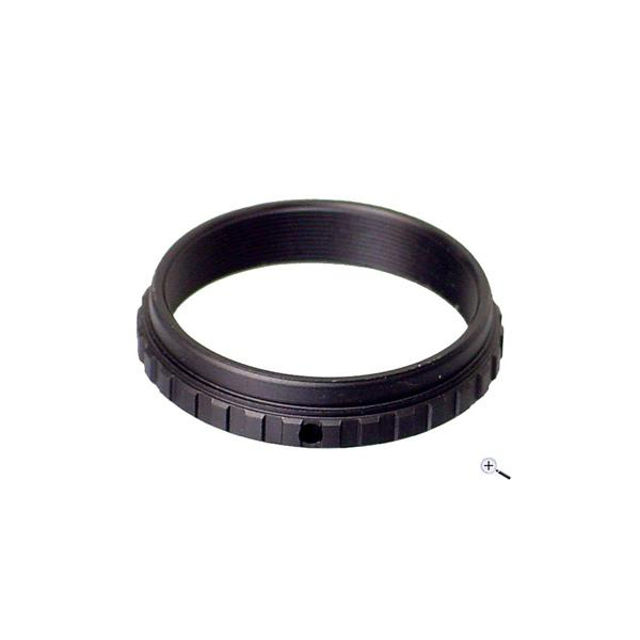 Picture of Baader adapter with continuous T2 female thread - T2 component #34