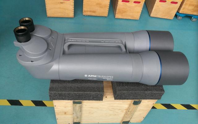 Bild von APM 150 mm 90 Grad SD Großfernglas mit Koffer