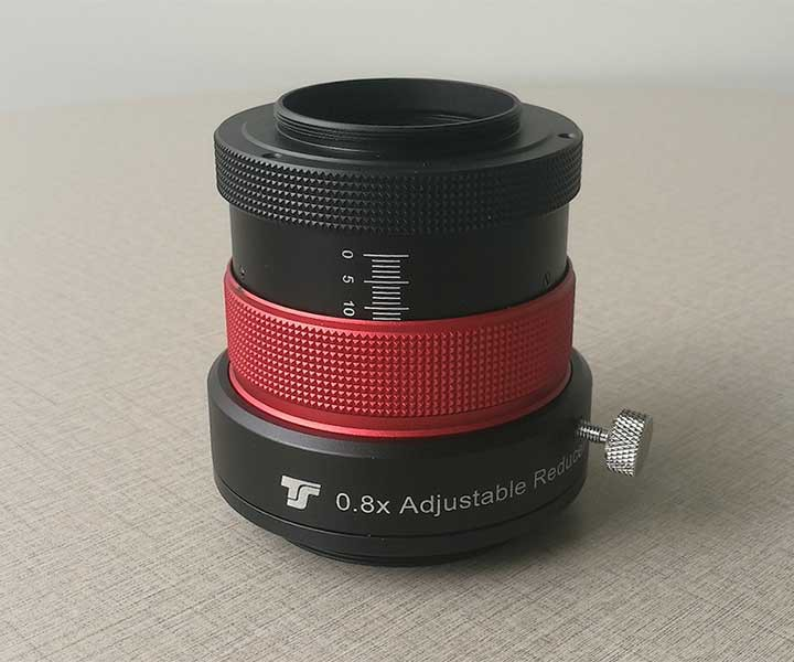 Bild von TS-Optics REFRAKTOR 0,8x Korrektor für Refraktoren ab 102 mm Öffnung - JUSTIERBAR