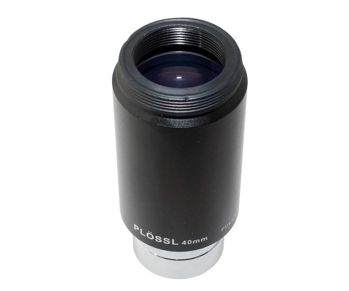 """Bild von TS Plössl 40mm mit 1,25""""-Einsteckdurchmesser,  46° Gesichtsfeld und vergüteter Optik"""