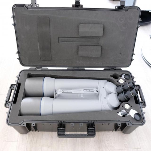 """Bild von APM 150 mm 45 ° ED-Apo Bino für 2"""" Okulare"""