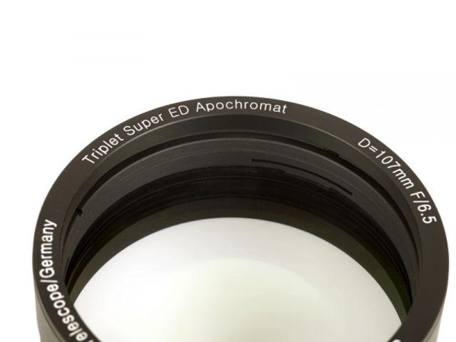 Bild von APM Super ED Apo 107mm f/6,5 Optik in Fassung