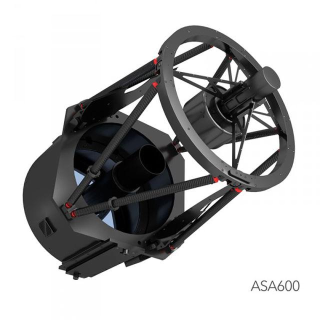 Bild von Teleskop ASA600 Ritchey-Chrétien f7 f2.5, Ritchey-Chrétien