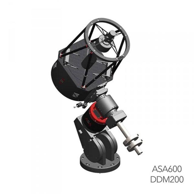 Bild von ASA600 Ritchey-Chrétien f7 f2.5 Teleskop mit DDM200 Montierung