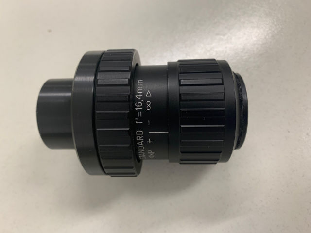 """Picture of Docter eyepiece 16,4mm with 1,25"""" adapter"""