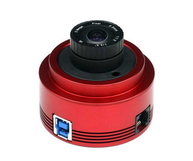 Picture of ZWO ASI178 USB3.0 monochrome CMOS Camera - Chip D=8.92 mm