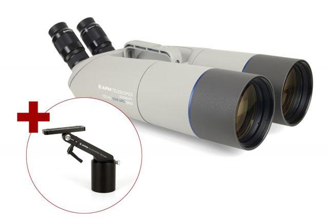 Bild von APM 100mm 45° Fernglas mit UF18mm & 1-Arm-Montierung