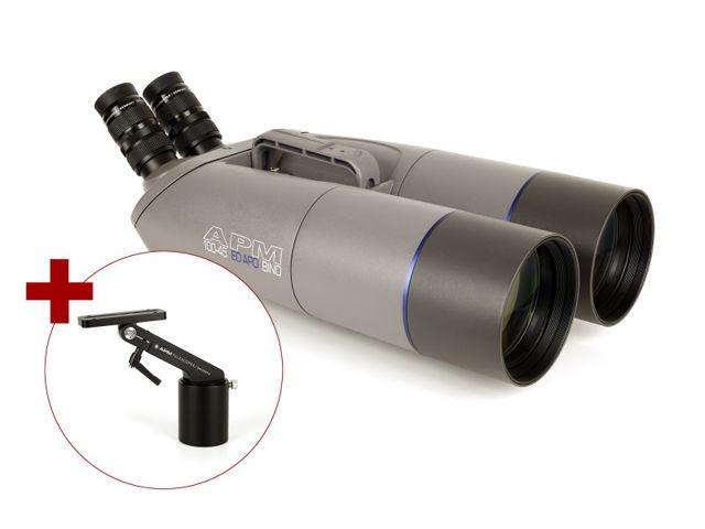 Bild von APM 100mm 45° ED-APO Fernglas mit UF18mm & 1-Arm-Montierung
