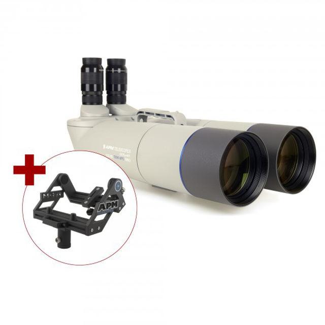 Bild von APM 100mm 90° Fernglas mit UF18mm & Gabelmontierung