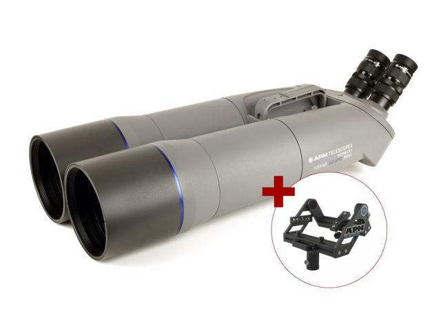 Bild von APM 120mm 90° SD-APO Fernglas mit UF18mm & Gabel-Montierung