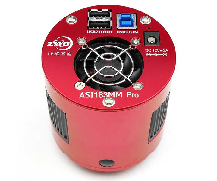 Picture of ZWO MONO Cooled Astro Camera ASI 183 MM Pro Sensor D=15.9 mm