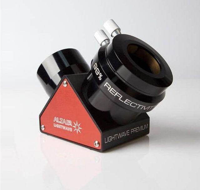 """Bild von 2"""" Altair Lightwave Premium dielektischer Zenitspiegel  ROT"""