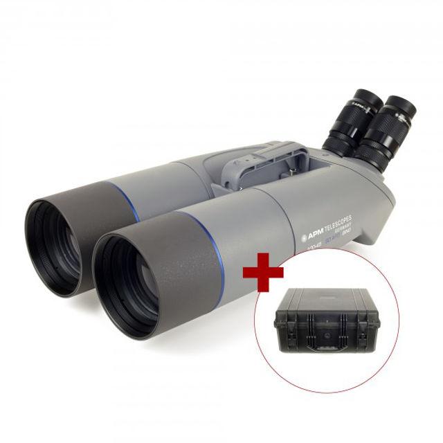 Bild von APM 100mm 45° SD APO Fernglas mit UF24mm & Koffer