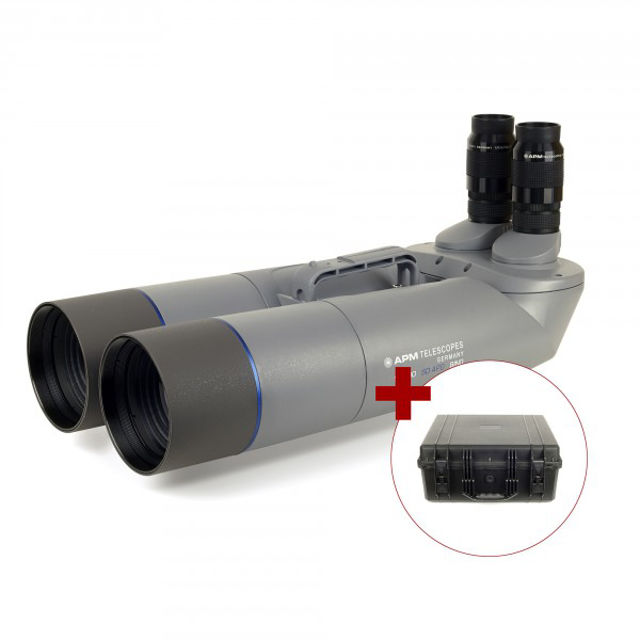 Picture of APM 100mm 90° SD APO Binocular with UF24mm & Case
