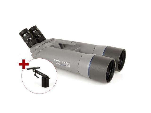 """Bild von APM 82 mm 45° SD-Apo-Fernglas mit 1,25"""" Wechselokularaufnahme mit Einarmmontierung"""