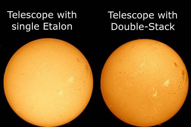 Bild von 60mm H-Alpha Double Stack Sonnen-Filter, passend für alle LS60FHa Filter-Systeme und LS60THa/LS60MT Teleskope