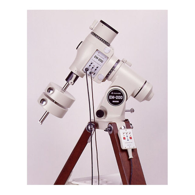 Bild von Takahashi Teleskop Montierung EM 200B mit Holzstativ