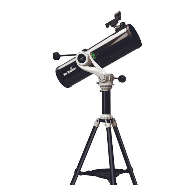Bild von Skywatcher-Teleskop Explorer 130PS Newton auf azimutaler AZ5-Montierung