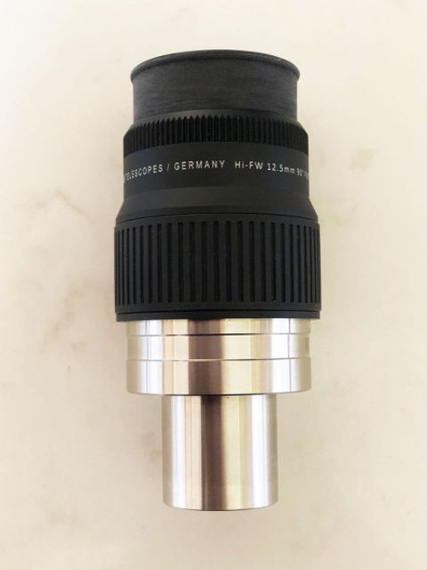 Picture of APM High eyerelief Flat-Wide 84 degree 12.5 mm eyepiece