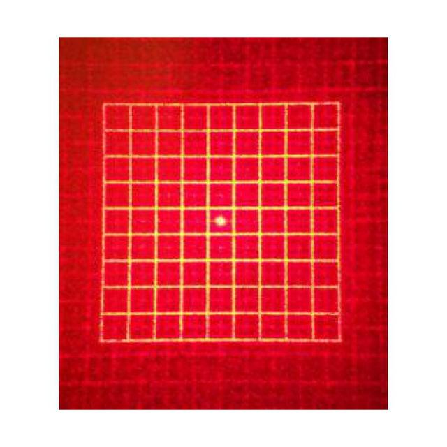 Bild von SI-HOLA-Quadrat --- Holographischer Aufsatz mit quadratischem Rastermuster für den holographischen Kollimator