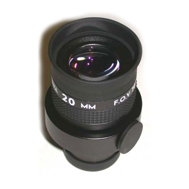 """Picture of APM - reticle eyepiece 20mm 70° - 1.25"""""""