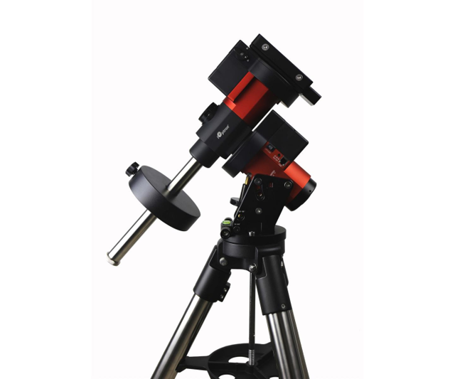 """Picture of iOptron GEM45 German Equatorial Mount with LiteRoc 1.75"""" Tripod and Hard Case"""