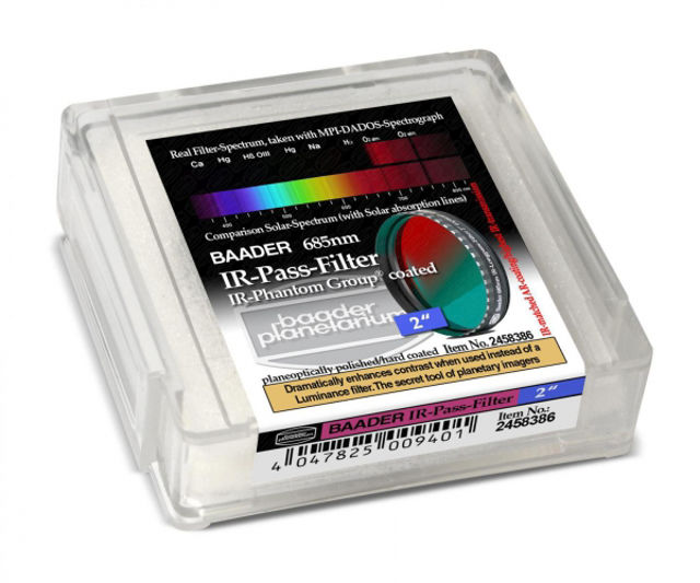 """Picture of Baader IR pass filter 2"""" (685 nm)- for planetary photography"""