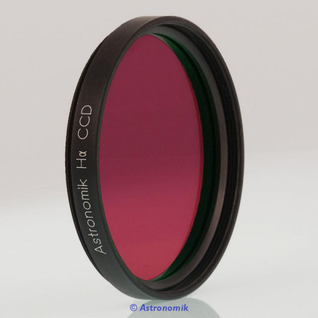 Picture of Astronomik ASHA12nm2 - H Alpha CCD Filter, 12 nm, 2 inch thread